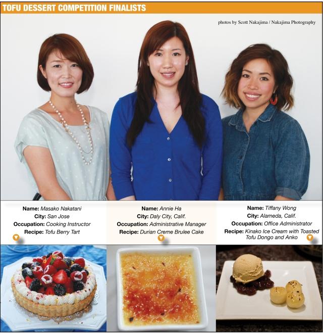Dessert Competition Finalsts