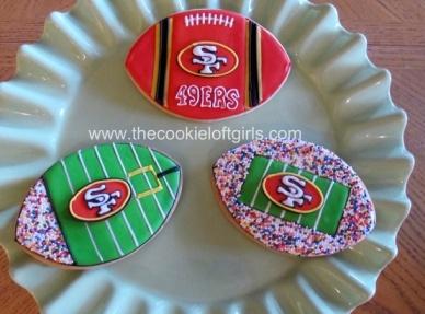 SF 49er Cookies!!-1